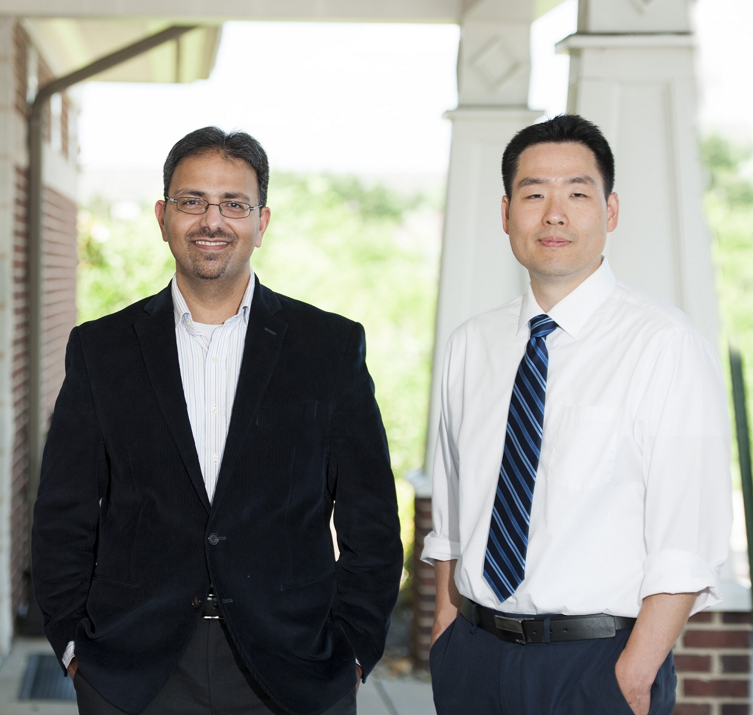 Photo of Dr. Seokhan Kyle Song and Dr. Ahmed Fida from the Family Practice at Bealeton